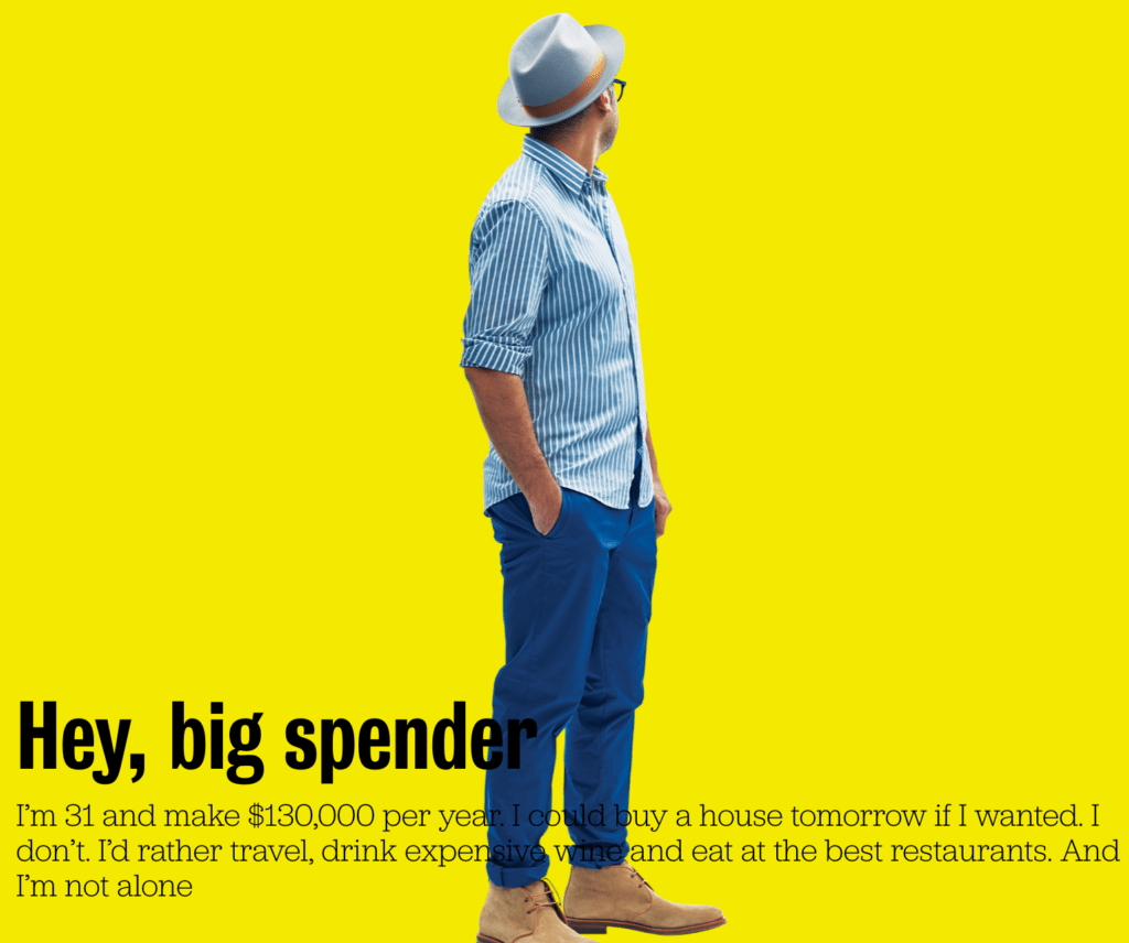 Thoughts: Big Spenders and their spending