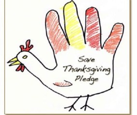 Save Thanksgiving Pledge Logo