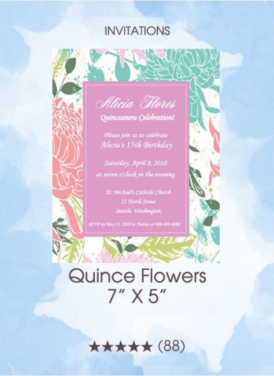 Shop Quinceanera Invitations Savethedatemagic