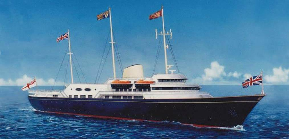 Royal yacht replacement