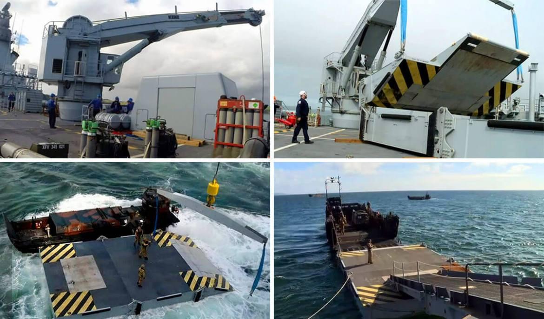 HMS Ocean Pontoon