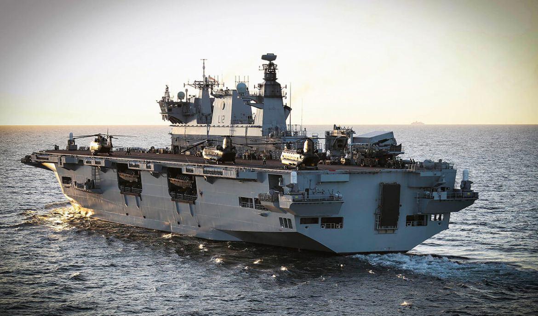 HMS Ocean ramp