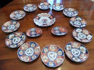 Servizio di piatti imari saviarte art design - Servizio piatti design ...