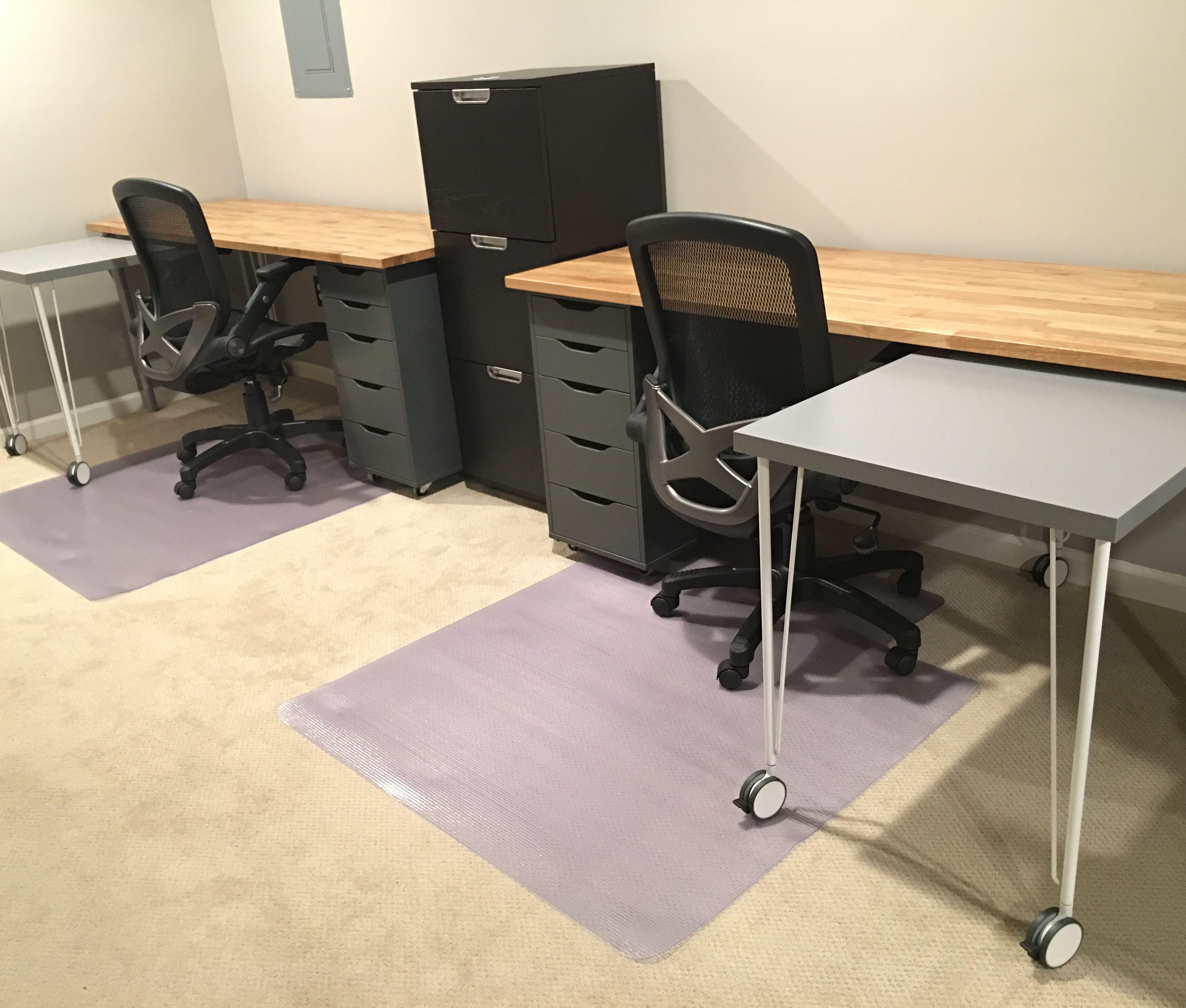 IKEA Hack: Custom, Transforming Home Office Desks