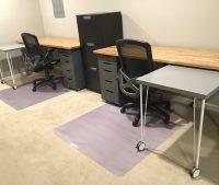 IKEA Hack: Custom, Transforming Home Office Desks | Saving Amy