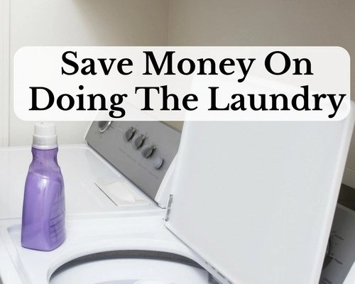 Save Money On Doing The Laundry