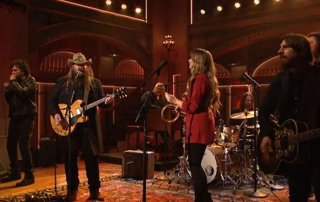 Chris Stapleton on Saturday Night Live Saving Country Music