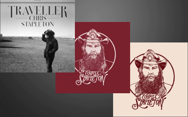 Chris Stapleton Makes Historic Mark with 3 of the Top 5 Albums on
