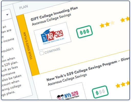 Compare 529 Plans - Saving for College