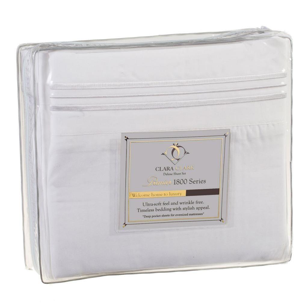 Clara Clark Premier 1800 Thread Count Bed Sheet Sets