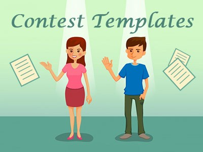 Four Free Contest Templates You Can\u0027t Miss For Social Media Promotion