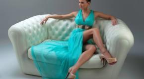 Tirkizna boja haljine