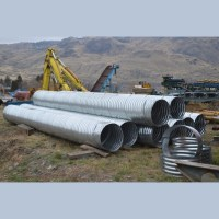 New 24 in. Galvanized Steel Culvert for sale   used ...