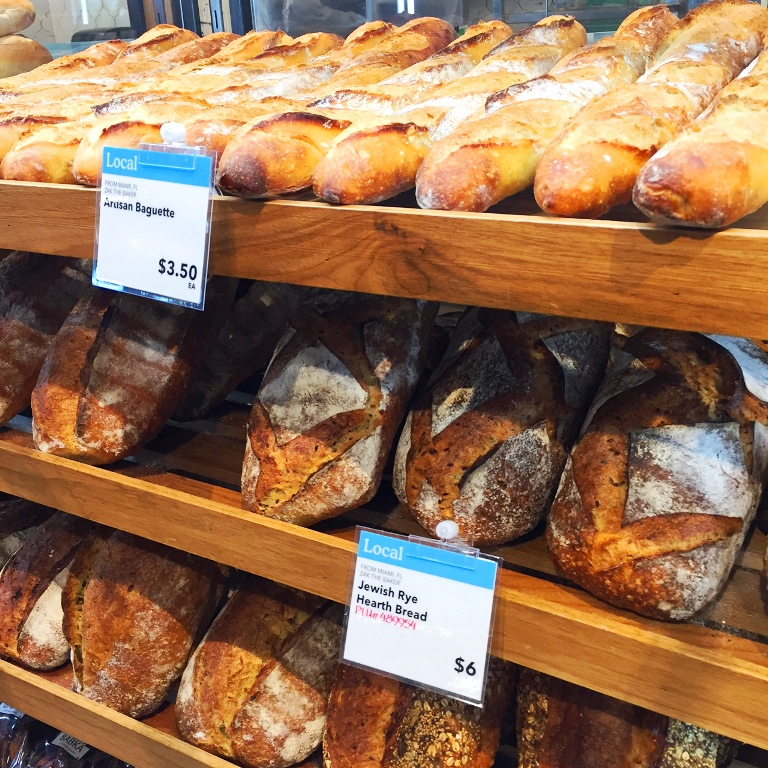 ZAK THE BAKER Breads at South Florida Whole Foods - Savor