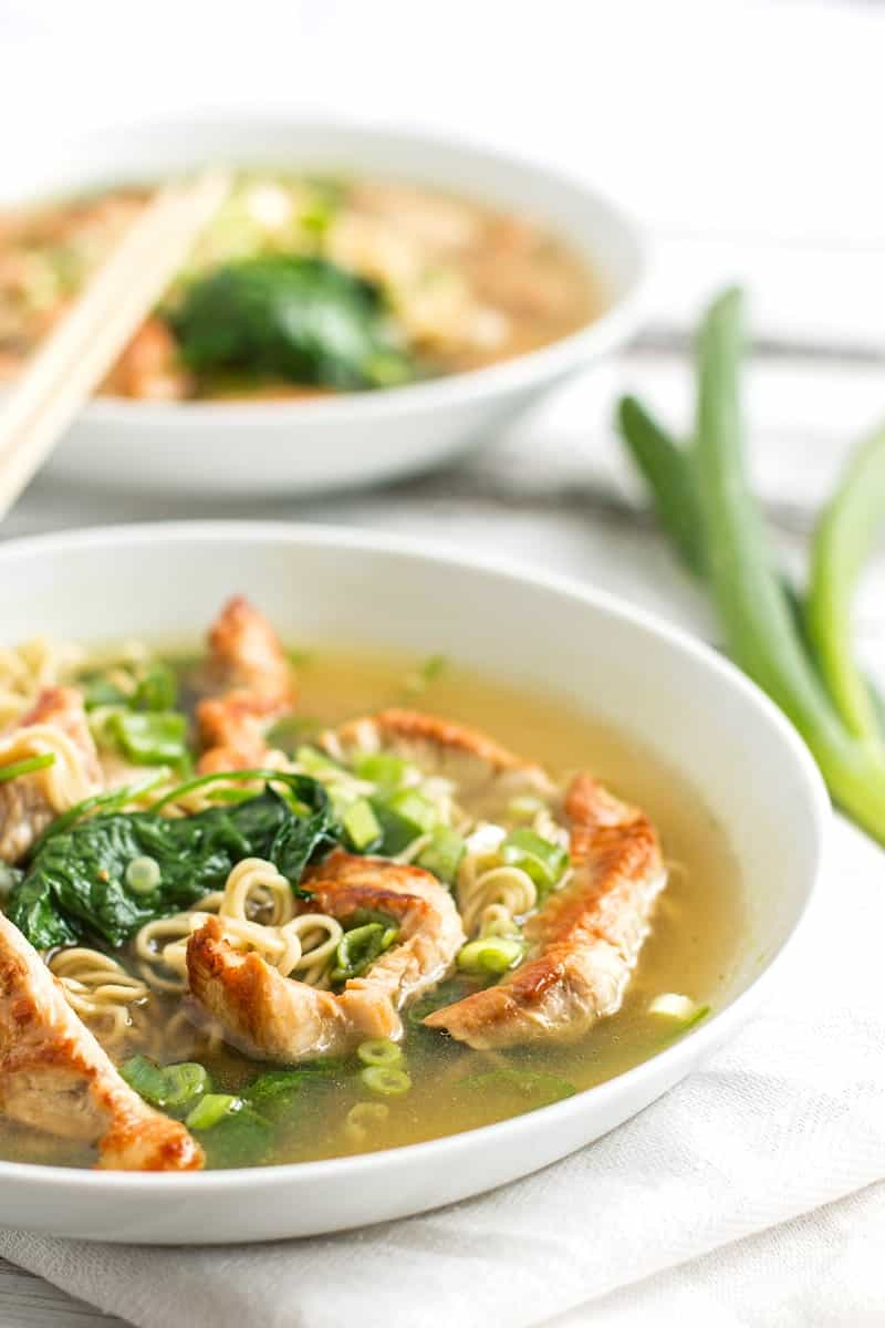 Leftover Turkey Ramen - The perfect meal to make after Thanksgiving to ...