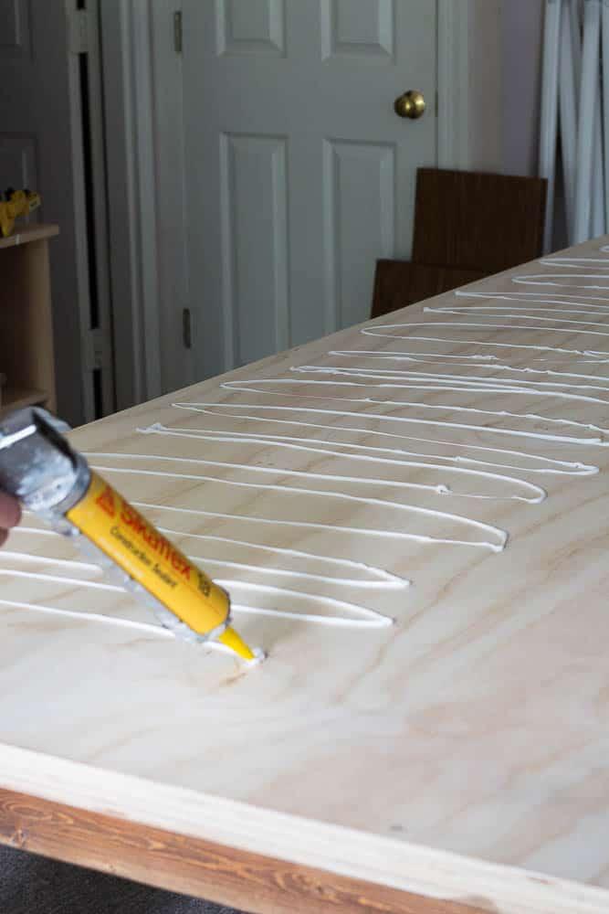 Diy Zinc Top Table Applying The Zinc Savvy Apron