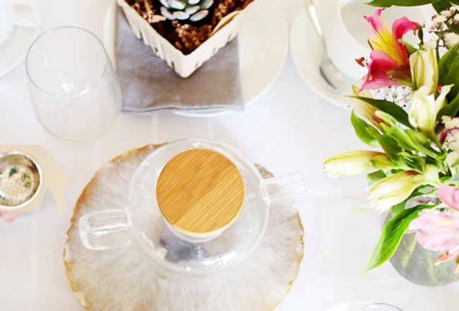tea part table setup