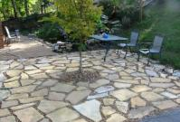 Savvy Housekeeping  Different Types of Flagstone Patios