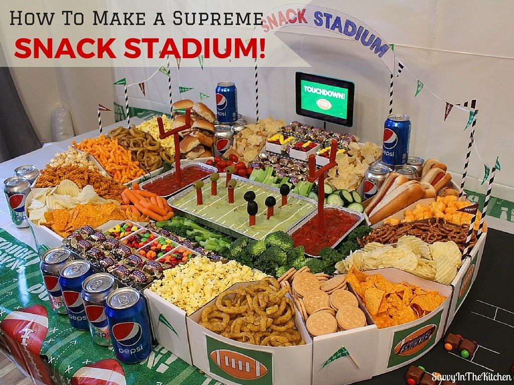 How To Make A Supreme Snack Stadium