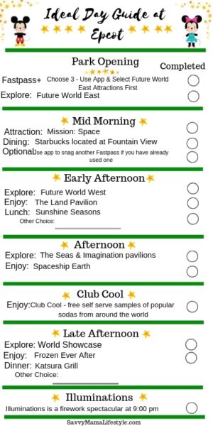 The Best Epcot Itinerary A Park Guide For Walt Disney World