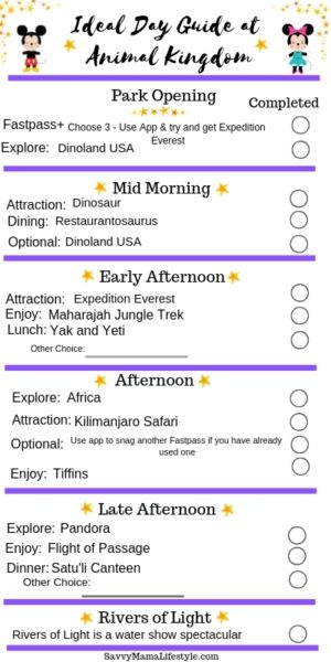 The Best Animal Kingdom Itinerary A Park Guide For Walt Disney World