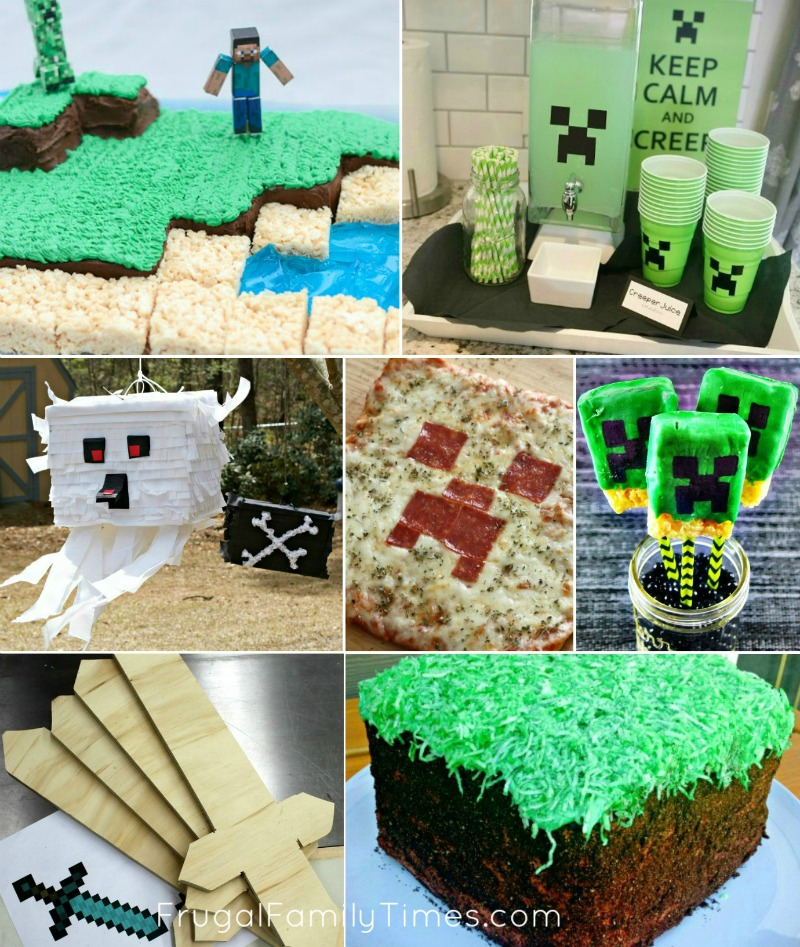 The Most Amazing Minecraft Party Ideas Crafts! Food! Games! Decor