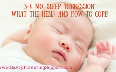 The 3 or 4 Month Sleep Regression: What the Hell and How to Cope
