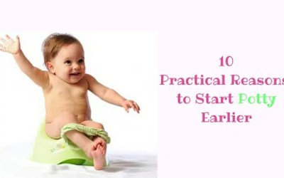 10 Practical Reasons to Start Potty Earlier