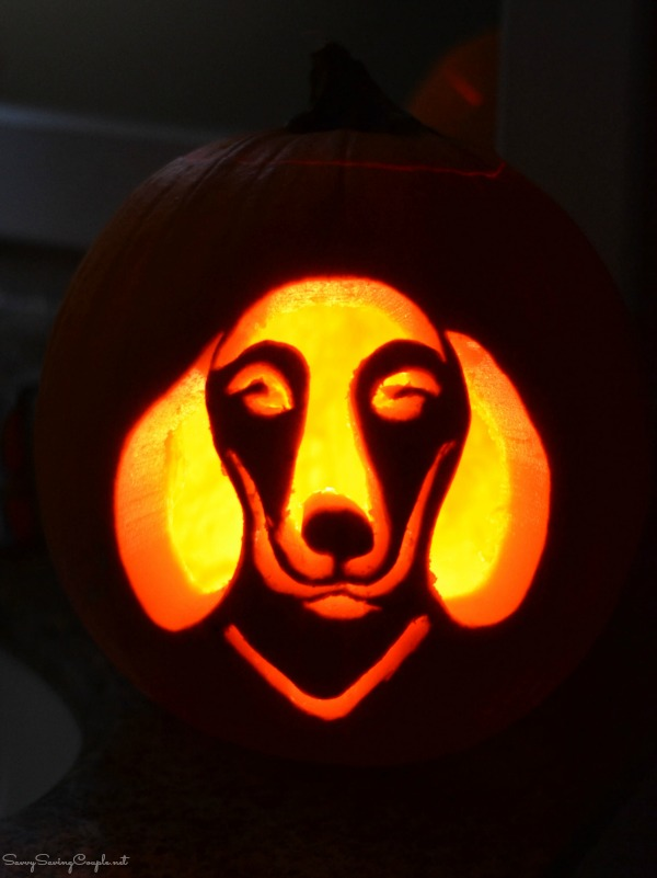 How to Get Free Dog Pumpkin Carving Templates ⋆ Savvy Saving Couple