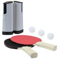 Portable Table Tennis Set with Net - savvysurf.co.uk