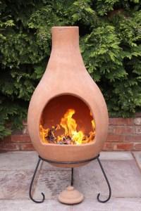 Super Jumbo Mexican Clay Terracotta Chimenea - savvysurf.co.uk