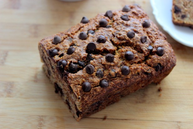 Banana Chocolate Chip Quinoa Bread