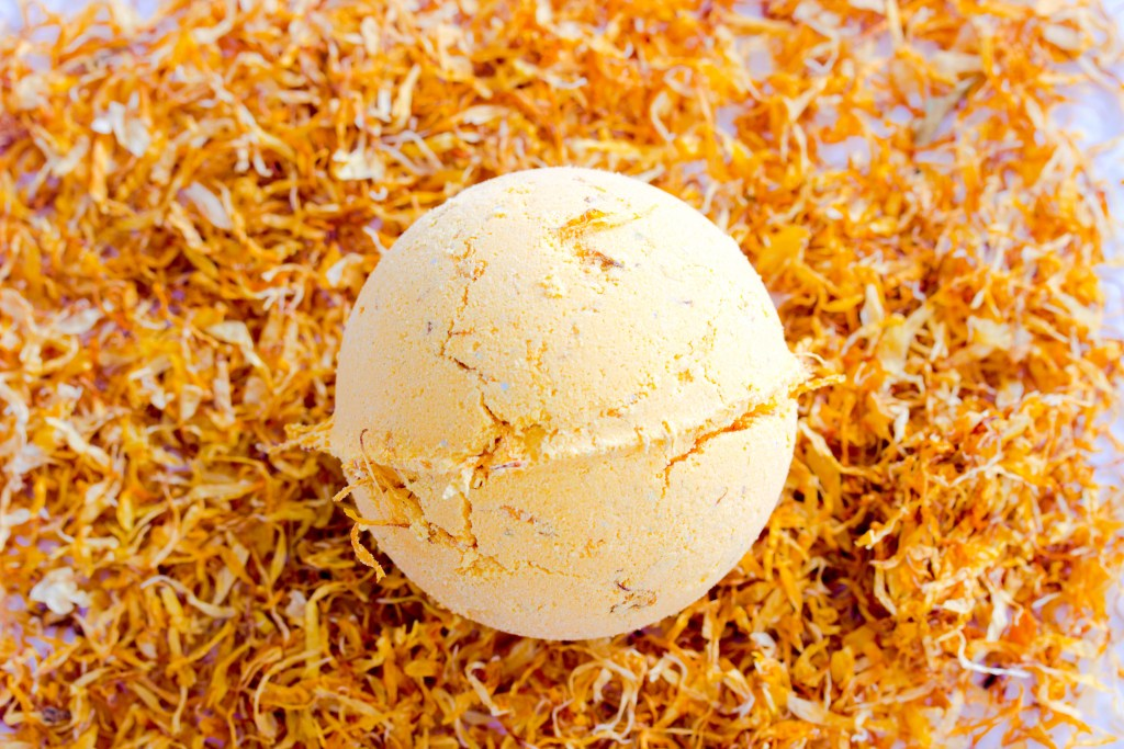Calendula Bath Bombs