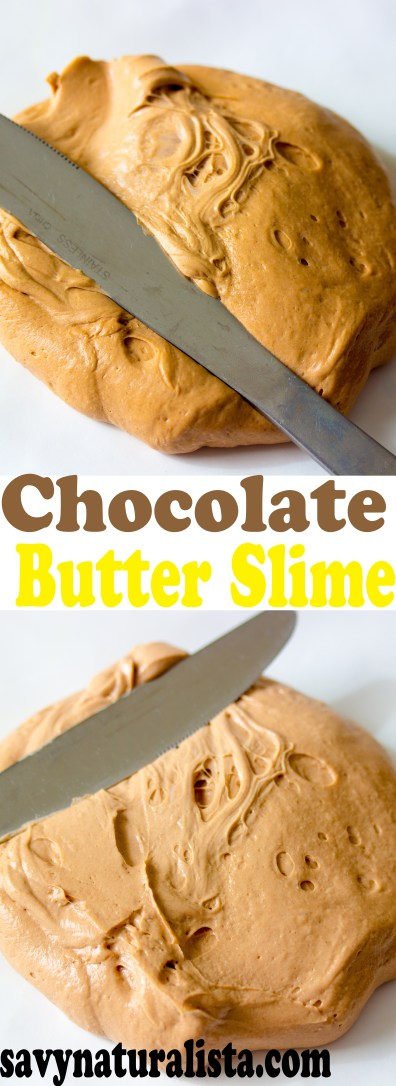 Butter slime can be pretty hard.. Well with this step by step tutorial. Make this easy chocolate butter slime with 4 simple ingredients.