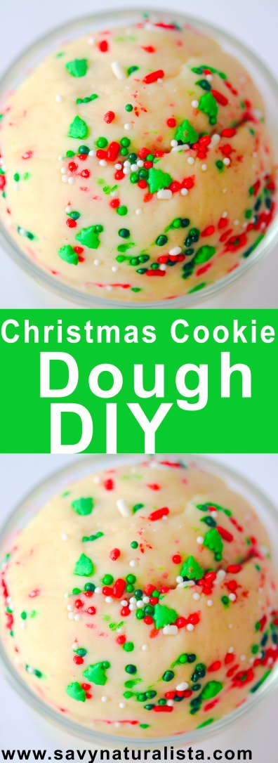 this festive edible cookie dough is easy to make hasno eggs and will satisfy your cravings...