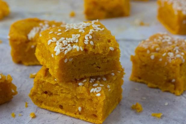 Pumpkin Sesame Bites