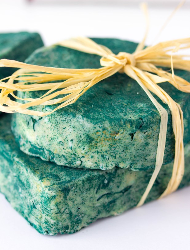 Coconut Oil Spirulina Soap