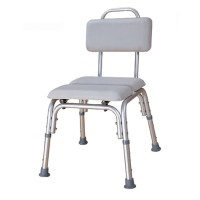 Padded Bath Chair with water-tight cushioned seat & backrest