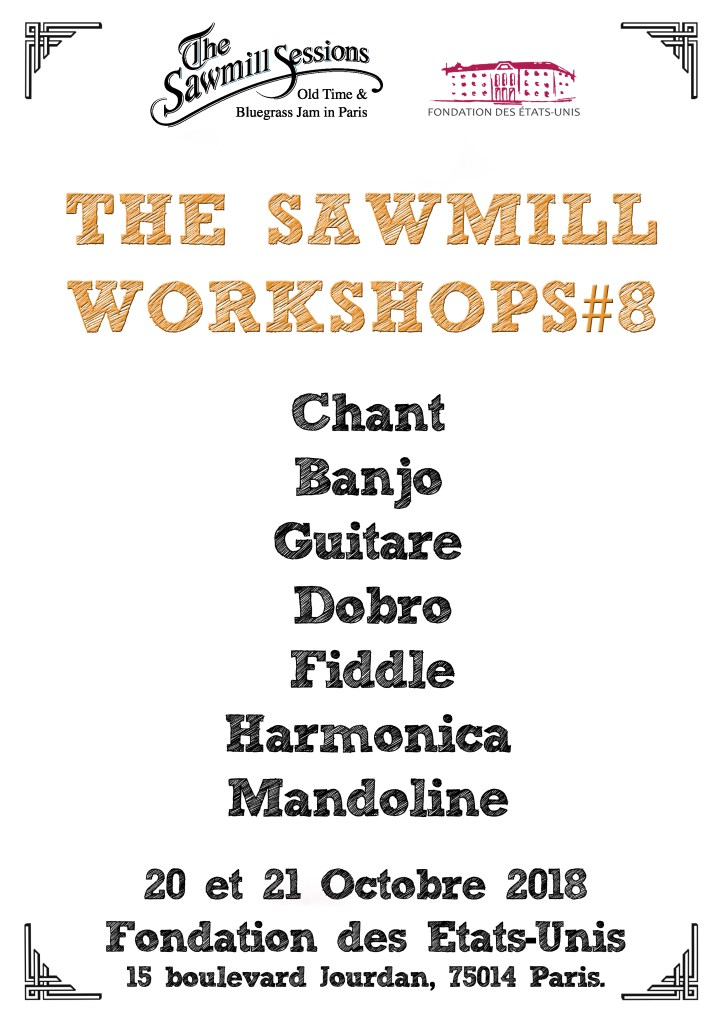 1 Ateliers Sawmill Workshops oct2018