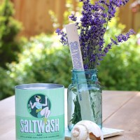 Coastal Inspired Vintage Chest using Saltwash