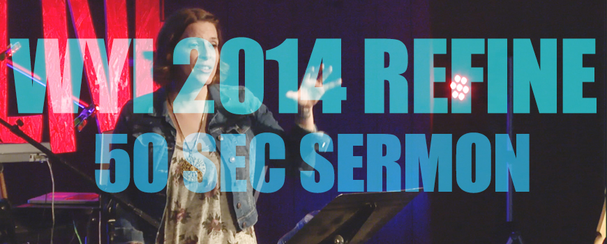 50 Sec Sermon from WYI