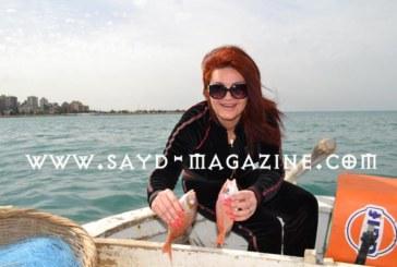 نساء الصيد في البر والبحر… ينافسن الرجال
