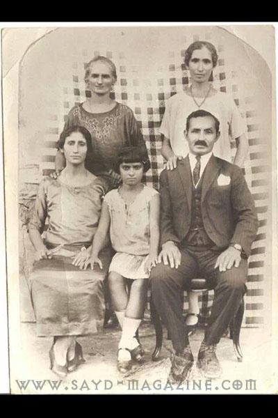عائلة الياس بصيبص التي غرقت ايضا في حادثة التايتانيك.. من بلدة أبلح في البقاع