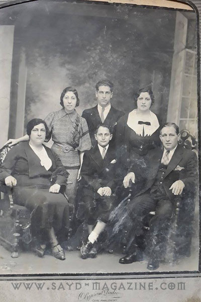 عائلة جوزيف سمعان من بلدة ابلح .. غرقت في حادثة التايتانيك