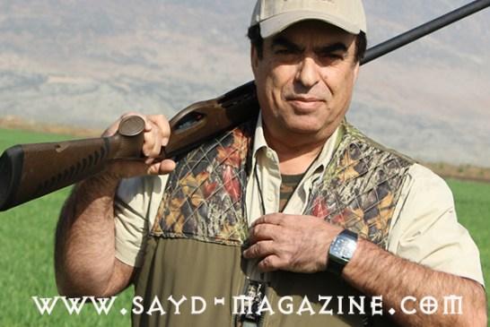 """الاعلامي الصياد جورج قرداحي : أنا من سلالة صيادين ..تعلمت الصيد بـ """" النقّيفة"""".. ويجب تعديل رخص الصيد للذين يحملون رخصاً أجنبية .."""