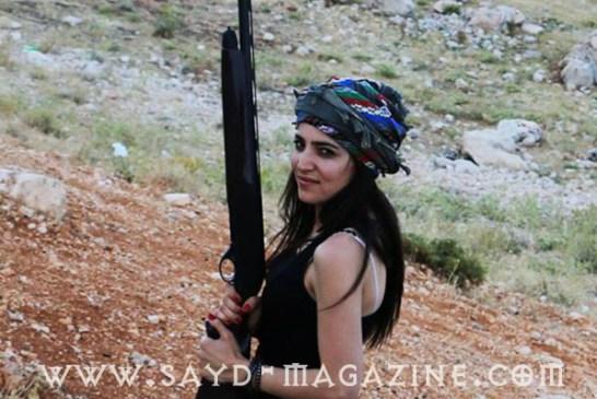 الصيادة اللبنانية هديل حميّة : لست مهووسة بتجميع الطرائد.. والصيد بالعدسة لا يقل متعة عن الصيد البندقية.
