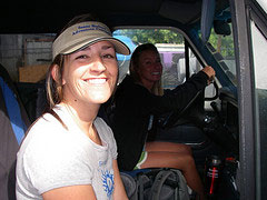 Guides in Tour Van