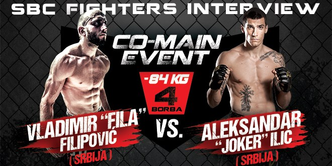 "Interview: Vladimir ""Fila"" Filipović vs. Aleksandar ""Joker"" Ilić, Co-Main event"