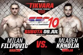 Milan Filipović vs Mladen Krndija