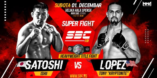 "SBC 19 // Satoshi Ishi (Japan) vs Tony ""Kryptonite"" Lopez (USA)"